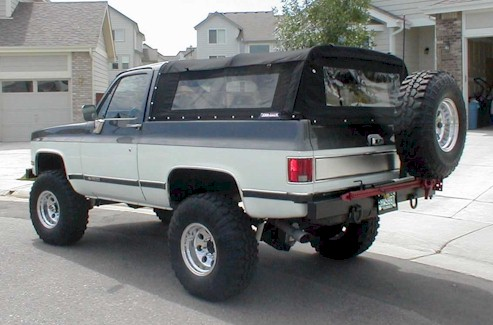 Softopper Can-Back Soft Top (76-91 K5 Blazer/Jimmy)