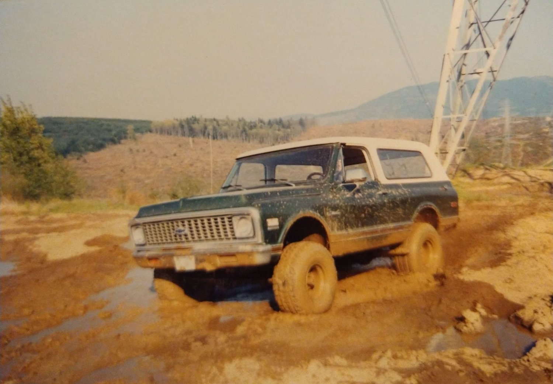 In the wild - old photo Thompson creek.jpg