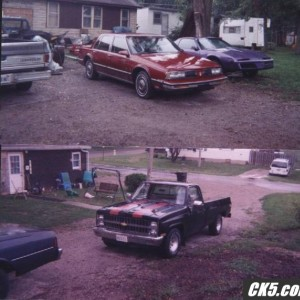 81 c-10 custom deluxe and 89 olds 88