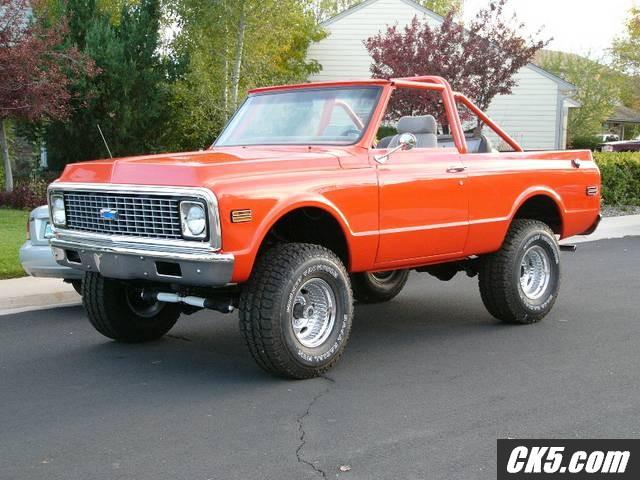 Chevy 1971 Truck >> 72 K5 Blazer | K5 BLAZER NETWORK