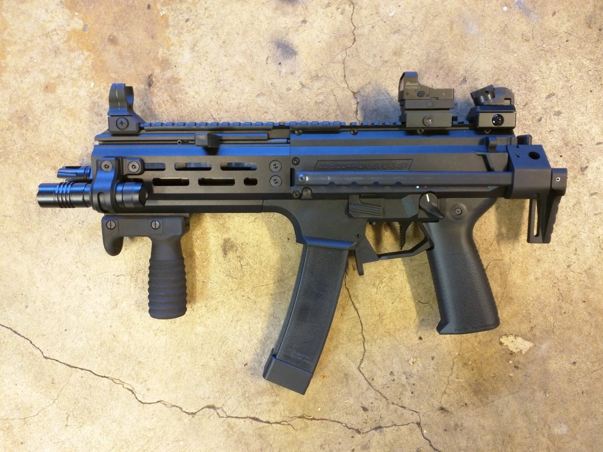 CZ Scorpion EVO 3 S1 Pistol - Page 190 - AR15 COM
